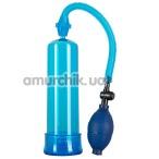Вакуумная помпа Bang Bang Penispump, синяя - Фото №1