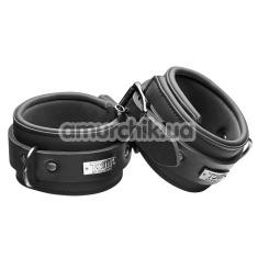 Фиксаторы для ног Tom of Finland Neoprene Ankle Cuffs, черные - Фото №1