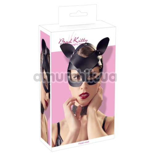 Маска Кошечки Bad Kitty Naughty Toys Head Mask, черная