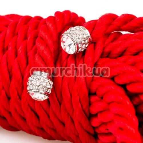 Веревка sLash Premium Silky 5м, красная
