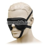 Маска XXdreamSToys Leder-Augenmaske, черная - Фото №1