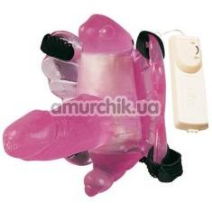 Вибратор-бабочка Butter Vibe, розовый