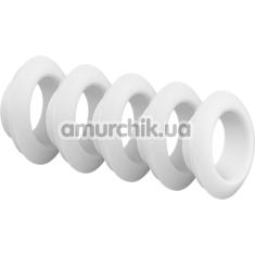 Набор насадок на симулятор орального секса для женщин Satisfyer Pro Deluxe, белый - Фото №1