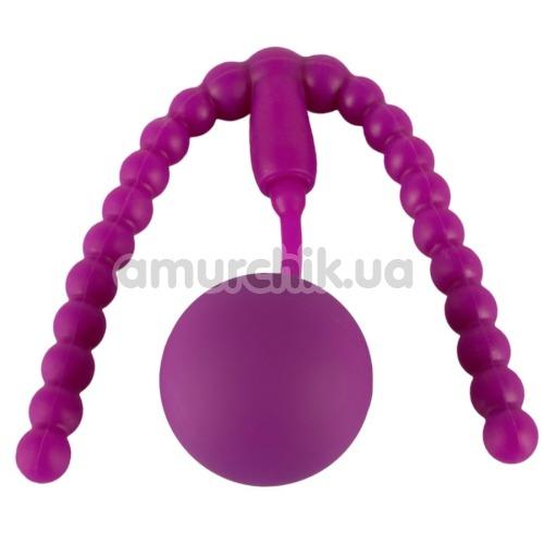 Вагинальный расширитель с тренажером Кегеля Intimate Spreader Pussy Gym, фиолетовый