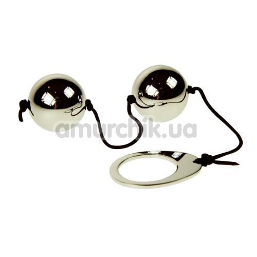 Вагинальные шарики Heavy Metal Duo Spheres - Фото №1