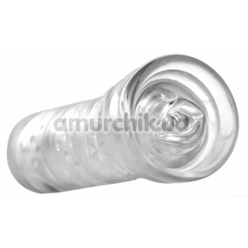 Симулятор орального секса Palm-Tec Hot Rod Sleeve, прозрачный - Фото №1