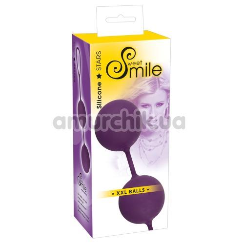 Вагинальные шарики Smile XXL Balls, фиолетовые