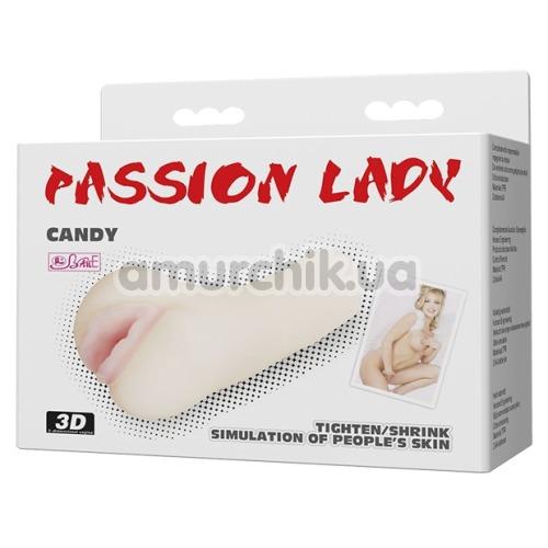Искусственная вагина Passion Lady Candy, телесная