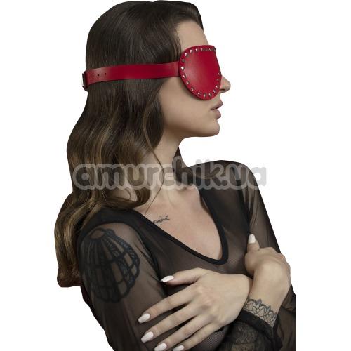 Маска Feral Feelings Blindfold Mask, красная - Фото №1