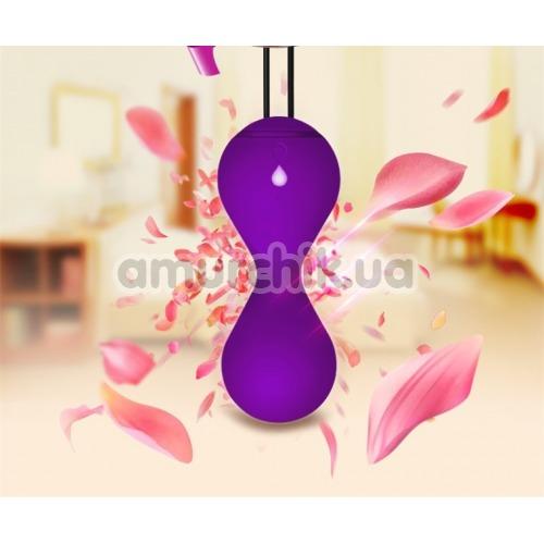 Вагинальные шарики Magic Motion Magic Kegel Master, фиолетовые
