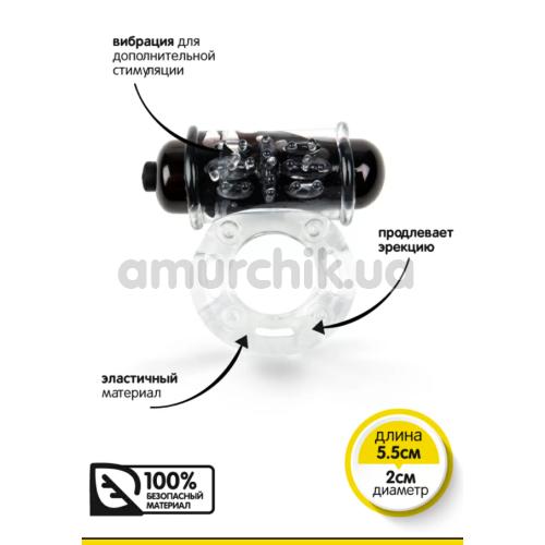 Виброкольцо Brazzers RС025, прозрачное