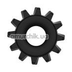 Эрекционное кольцо Power Plus Cock Ring Series LV1432, черное - Фото №1