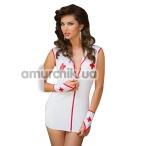Костюм медсестры Sister: платье + перчатки