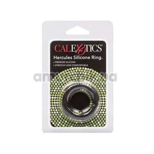 Эрекционное кольцо Adonis Silicone Rings Hercules, черное