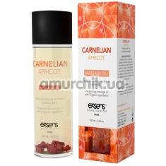 Массажное масло с сердоликом Exsens Carnelian Apricot Massage Oil - абрикос, 100 мл - Фото №1