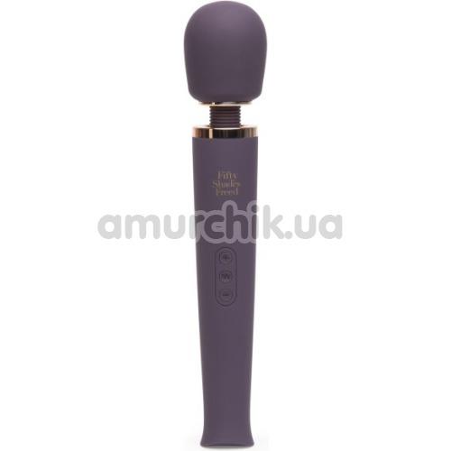 Универсальный массажер Fifty Shades Freed Awash With Sensation, фиолетовый - Фото №1