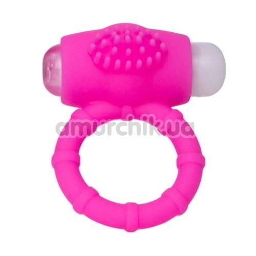 Виброкольцо А-Toys Powerful Cock Ring, розовое