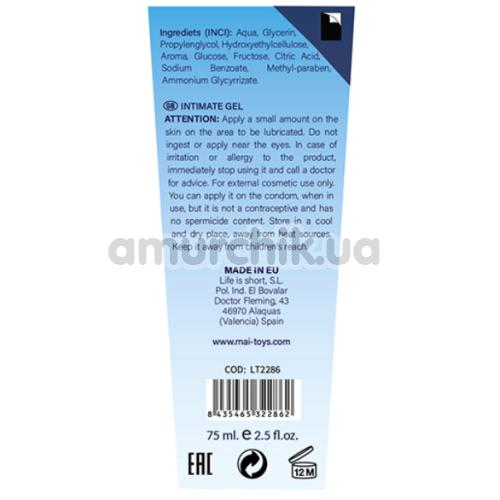 Анальный лубрикант Back To Basics Water Based Lubricant Anal Relax, 75 мл