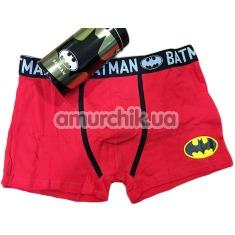 Мужские трусы Admas Batman, красные - Фото №1