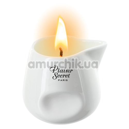 Массажная свеча Plaisir Secret Paris Bougie Massage Candle Peach - персик, 80 мл