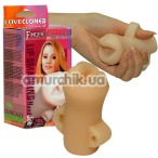 Искусственный ротик Smacking Hand Job - Фото №1