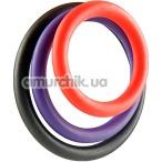 Набор из 3 эрекционных колец Triple G-Ring Set - Фото №1