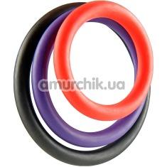 Набор из 3 эрекционных колец Triple G-Ring Set