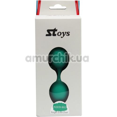 Вагинальные шарики SToys Passion Balls Kegel Exerciser, зеленые