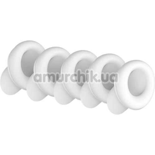 Набор насадок на симулятор орального секса для женщин Satisfyer 2 Next Generation, белый - Фото №1