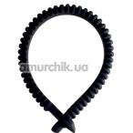 Эрекционное кольцо Dorcel Adjust Ring, черное - Фото №1