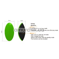 Клиторальный вибратор Odeco Eros Green, салатовый