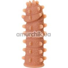 Насадка на пенис Kokos Extreme Sleeve ES.04 М 010, телесная - Фото №1