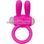 Виброкольцо А-Toys Powerful Cock Ring 769002, розовое