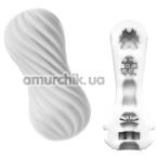Мастурбатор Tenga Flex Silky, белый - Фото №1