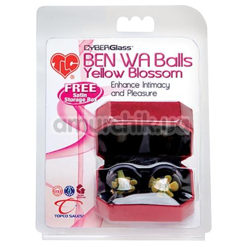 Вагинальные шарики Ben Wa Yellow Blossom