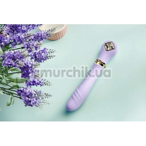Вибратор с подогревом Zalo Courage Pre-Heating G-spot Massager, фиолетовый