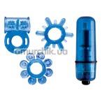 Набор из 4 предметов Climax Kit, синий