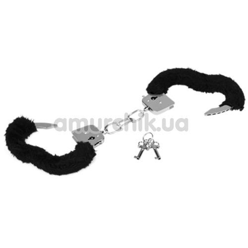Наручники MAI No.38 Metal Furry HandCuffs, черные
