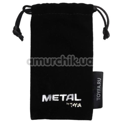 Кольцо на головку члена Toyfa Metal Ring, серебряное