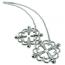 Зажимы для сосков Loveshop Erotic Flower, серебряные - Фото №2