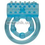 Виброкольцо Looping, голубое - Фото №1
