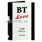 Туалетная вода с феромонами BT Love, 1 мл для женщин - Фото №1