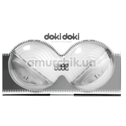 Вибростимуляторы для груди Doki Doki Breast Massager, белые - Фото №1
