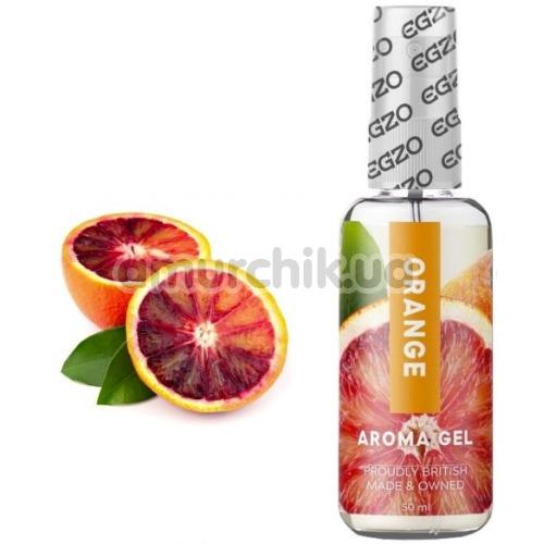 Оральный лубрикант EGZO Aroma Gel Orange - апельсин, 50 мл