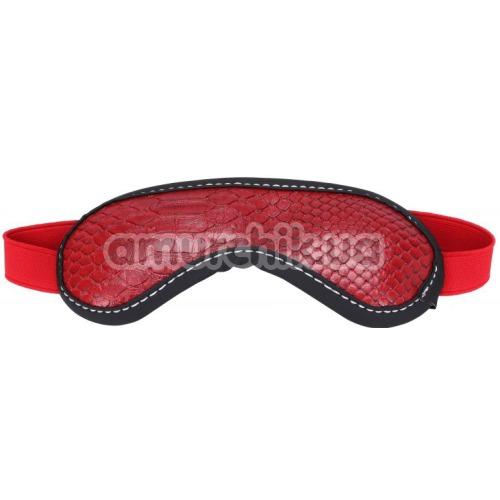Маска на глаза sLash Snake Blindfold, красный
