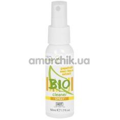 Антибактериальный спрей для очистки секс-игрушек Hot Bio Cleaner Spray, 50 мл - Фото №1