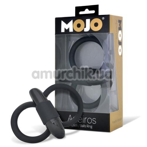 Виброкольцо Mojo Apeiros Cock Balls Ring, черное