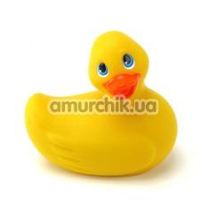 Клиторальный вибратор I Rub My Duckie Travel Size, желтый - Фото №1