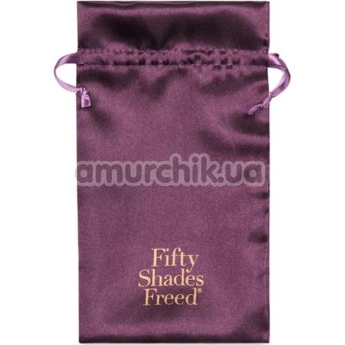 Клиторальный вибратор Fifty Shades Freed My Body Blooms, фиолетовый