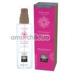 Спрей для тела и белья с феромонами Shiatsu Fragrance Spray Bed & Body для женщин - вишня и белый лотос, 100 мл - Фото №1
